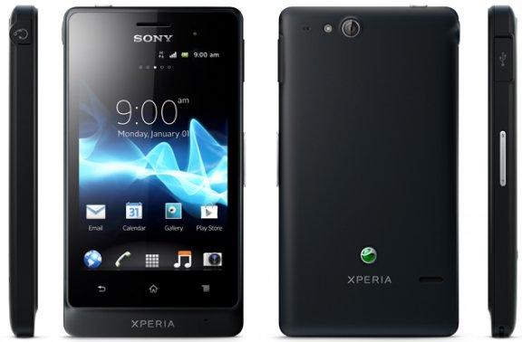 Sony Xperia Go Android-älypuhelin, musta, kuva 2