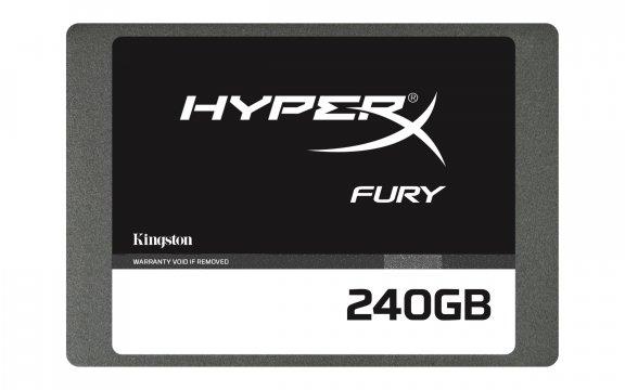 "Kingston HyperX FURY 240 GB SSD 2.5"" SSD-kovalevy, kuva 2"
