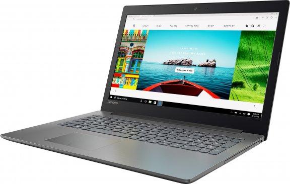 """Lenovo IdeaPad 320 15,6"""" kannettava, Win 10 64-bit, musta, kuva 2"""