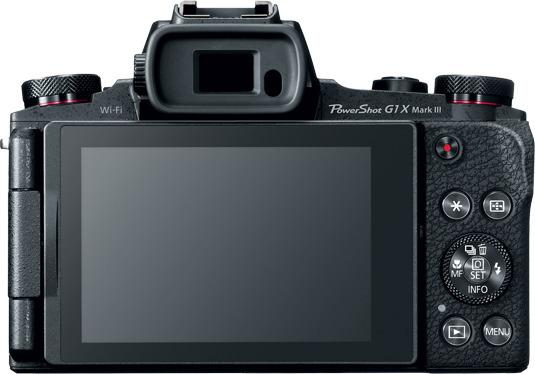 Canon PowerShot G1 X Mark III -kamera, kuva 4