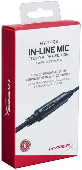 HyperX Cloud Alpha Line-In-Microphone -johto mikrofonilla, musta, kuva 2