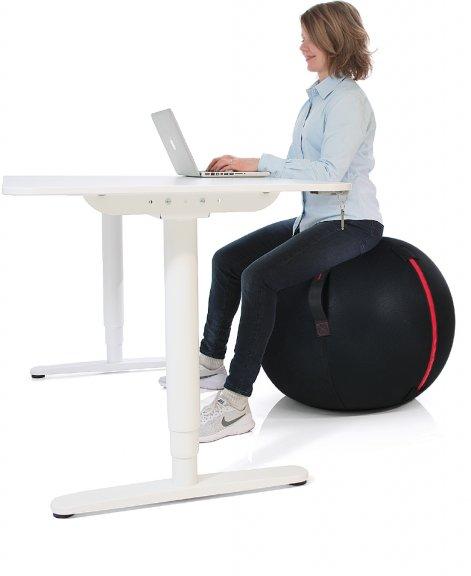 Gymstick Office Ball -istuin, 75 cm, kuva 2