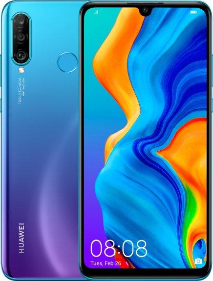 Huawei P30 Lite -Android-puhelin 128/4 Gt, Dual-SIM, revontuli, kuva 2