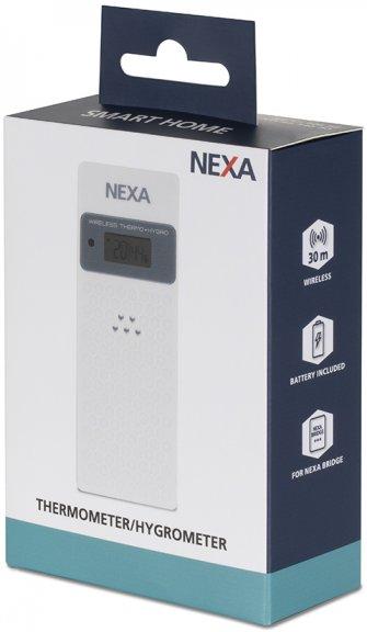 Nexa NBA-001 lämpö- ja kosteusmittari ulko- ja sisäkäyttöön, kuva 3