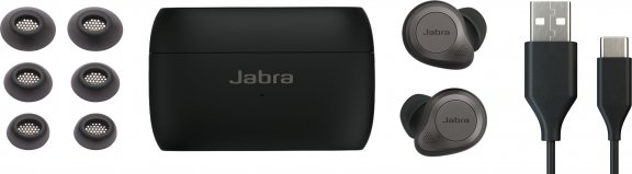 Jabra Elite 85t -Bluetooth-vastamelukuulokkeet, musta/titaani, kuva 5