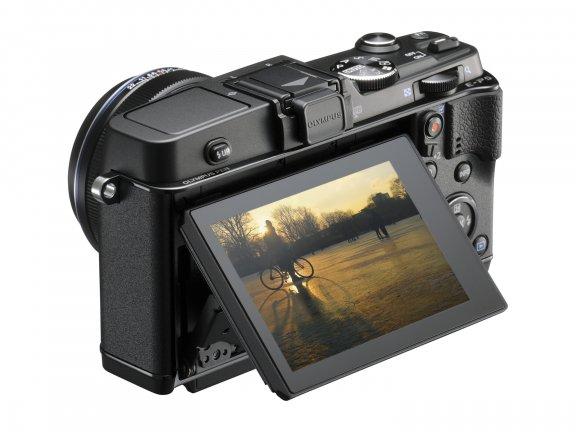 Olympus PEN E-P5 KIT musta + 17mm f/1.8 -objektiivi + VF-4-etsin, kuva 3