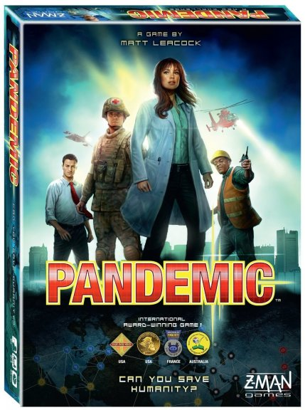 Pandemic-strategiapeli