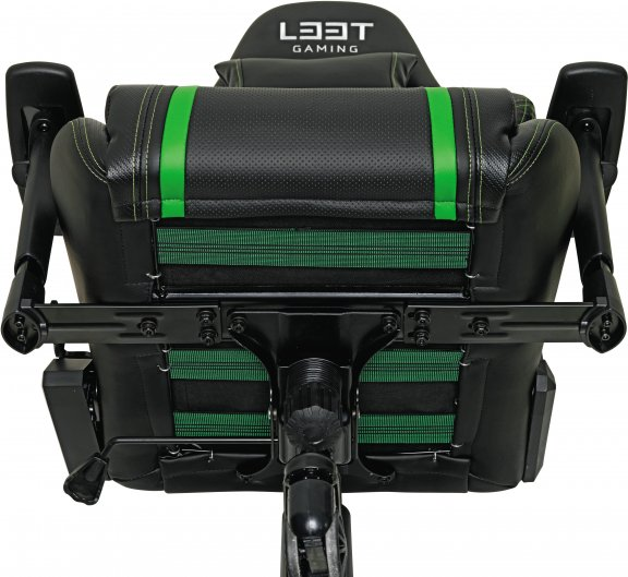 L33T Gaming Elite V3 -pelituoli (PU), vihreä, kuva 6