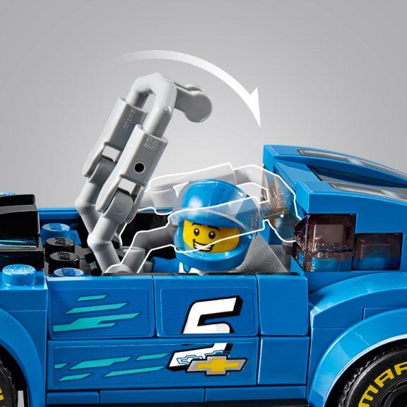 LEGO Speed Champions 75891 - Chevrolet Camaro ZL1 -kilpa-auto, kuva 5