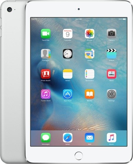 Apple iPad mini 4 16 Gt Wi-Fi -tabletti, hopea, MK6K2
