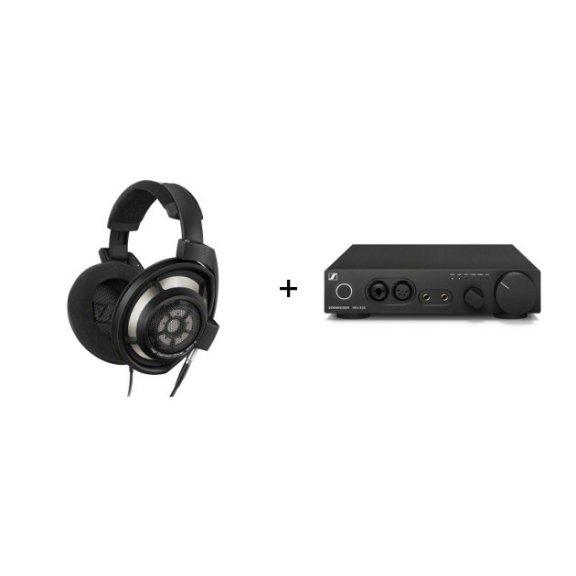Sennheiser HD 800 S & HDV 820 -kuulokkeet ja vahvistin