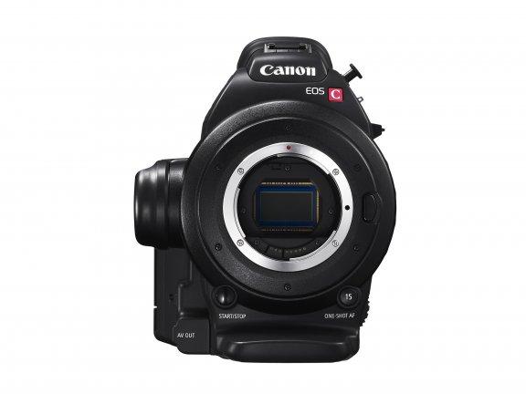 Canon EOS C100 Mark II videokamera, runko, kuva 5
