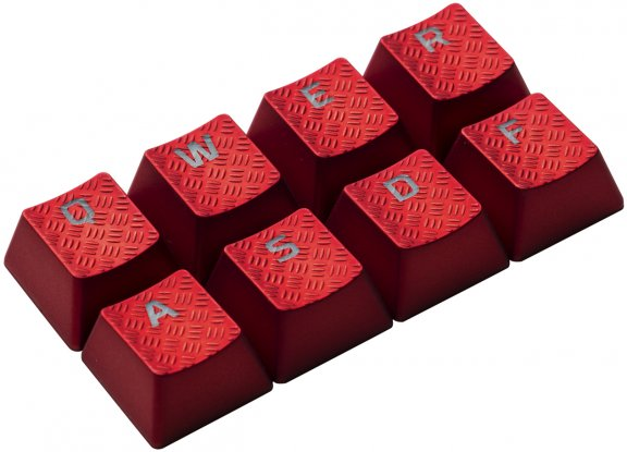 HyperX FPS & MOBA Gaming Keycaps -vaihtonäppäimet, punaiset