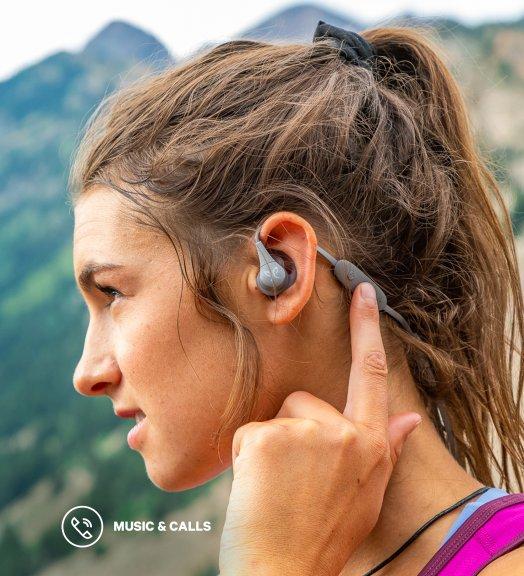 Jaybird X4 -Bluetooth nappikuulokkeet urheiluun, Black Metallic/Flash, kuva 3