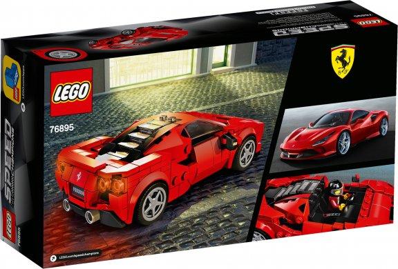 LEGO Speed Champions 76895 - Ferrari F8 Tributo, kuva 2