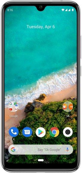Xiaomi Mi A3 -Android-puhelin Dual-SIM, 64 Gt, valkoinen, kuva 3