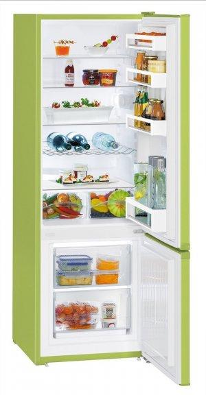 Liebherr CUkw 2831 -jääkaapipakastin, limen vihreä, kuva 4