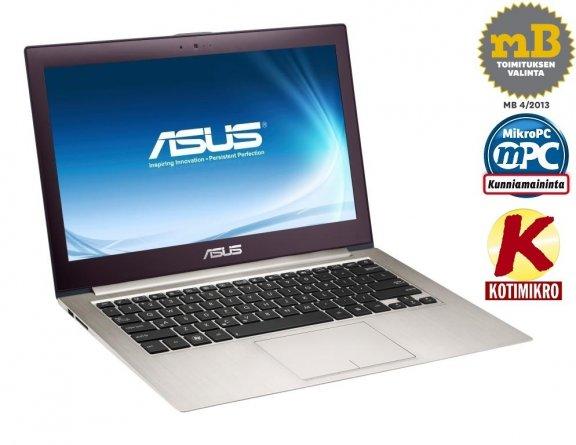 """Asus Zenbook UX32VD 13.3"""" FHD/i7-3517U/4 GB/500 GB HDD + 24 GB SSD/GT 620M/Windows 8 64-bit kannettava tietokone"""