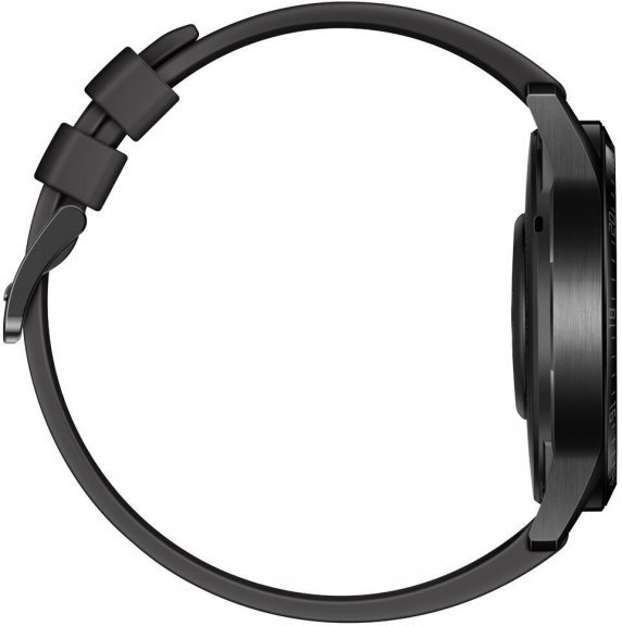 Huawei Watch GT2 -älykello , Musta 46 mm silikoniranneke, kuva 4