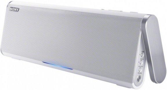 Sony SRS-BTX300W kannettava Bluetooth-kaiutin NFC-tuella, valkoinen