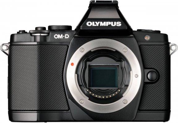 Olympus OM-D E-M5 runko, musta