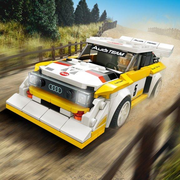 LEGO Speed Champions 76897- 1985 Audi Sport quattro S1, kuva 7