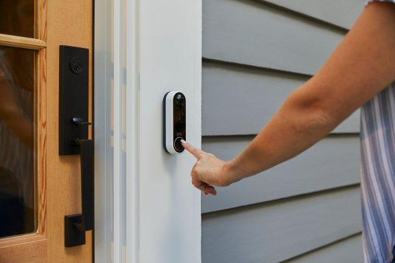 Arlo Essential Video Doorbell -video-ovikello, valkoinen, kuva 5