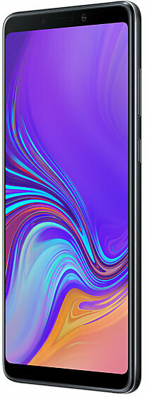 Samsung Galaxy A9 -Android-puhelin Dual-SIM, 128 Gt, musta, kuva 3