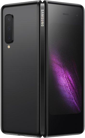 Samsung Galaxy Fold -Android-puhelin, 512 Gt, Cosmos Black, kuva 3