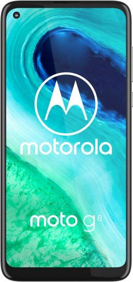 Motorola Moto G8 -Android-puhelin, sininen, kuva 2