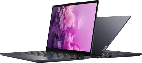 "Lenovo Yoga Slim 7 14"" -kannettava, Win 10 Home, harmaa, kuva 6"