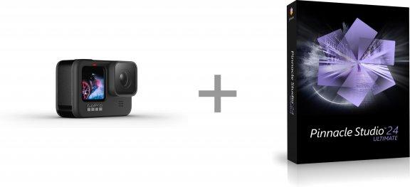 GoPro HERO9 Black + Pinnacle Studio 24 Ultimate -videoeditointiohjelmisto