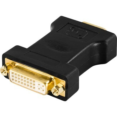 Deltaco  DVI-I naaras - VGA uros adapteri