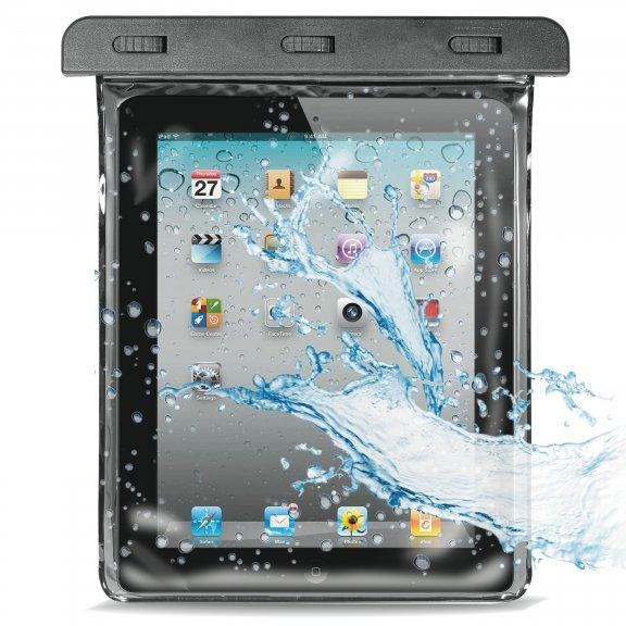 """Puro Waterproof Case Tablet 10.1""""   -vesitiivis suojalaukku, musta"""