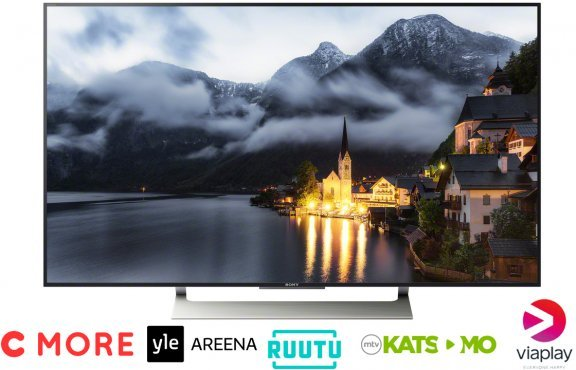 "Sony KD-49XE9005 49"" Android 4K HDR Ultra HD Smart LED -televisio"