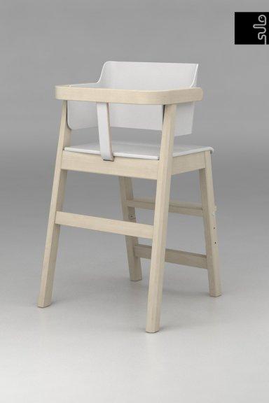 Sulo-tuoli, valkoinen/koivu, kuva 5