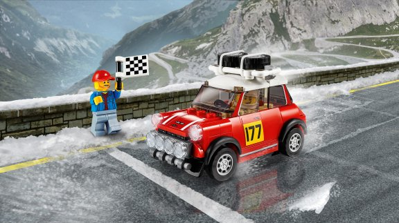 LEGO Speed Champions 75894 - 1967 Mini Cooper S Rally ja 2018 MINI John Cooper Works Buggy, kuva 5