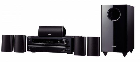 Onkyo HT-S5405, 5.1-kanavainen kotiteatterijärjestelmä, väri musta
