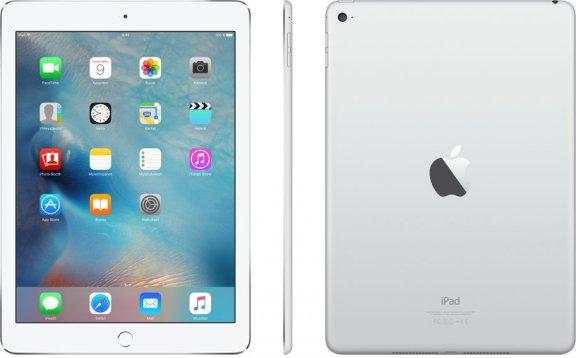 Apple iPad Air 2 16 Gt Wi-Fi -tabletti, hopea, MGLW2, kuva 3