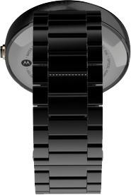 Motorola Moto 360 Android Wear -älykello, metallirannekkeella musta, kuva 4