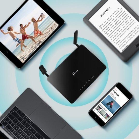 TP-LINK Archer MR600 -4G+ LTE-modeemi ja WiFi-tukiasema, kuva 8