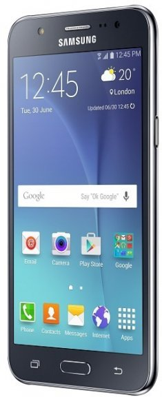 Samsung Galaxy J5 -Android-puhelin, musta, kuva 2