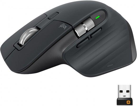 Logitech MX Master 3 -hiiri, musta