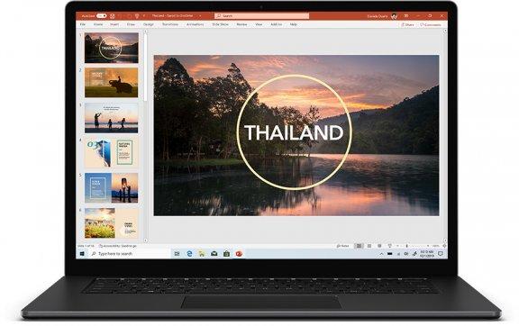 Microsoft Surface Laptop 3 -kannettava, musta, Win 10, kuva 2