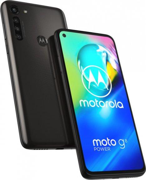 Motorola Moto G8 Power -Android-puhelin, musta