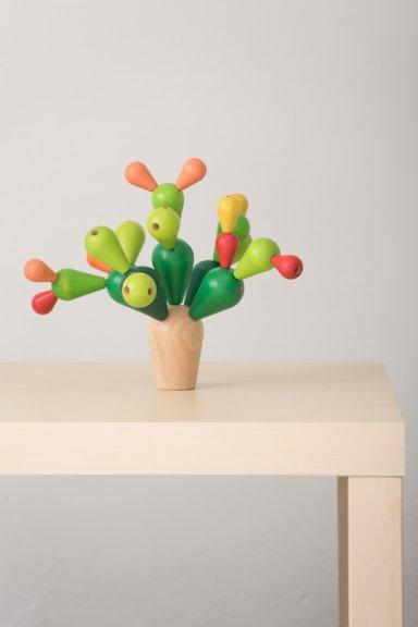 PlanToys Tasapainoileva Cactus -lastenpeli, kuva 2