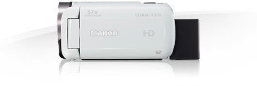 Canon LEGRIA HF R706 -videokamera, valkoinen, kuva 4
