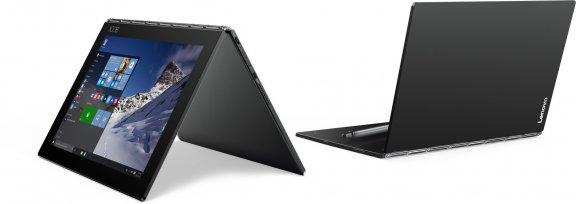 "Lenovo Yoga Book 10,1"" Windows 10 Pro -tabletti, musta, kuva 2"