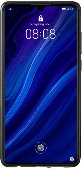 Huawei P30 PU Cover, musta, kuva 3