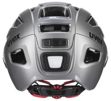 Uvex Finale Visor Vario -pyöräilykypärä, teräksenharmaa, 52-57 cm, kuva 3